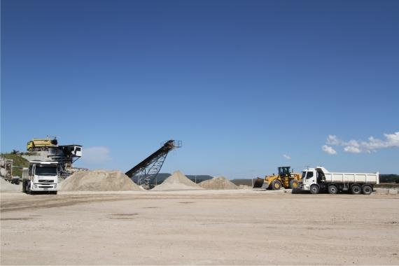 Mineração em União da Vitória - PR